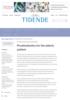 Einar Berg, Flemming Isidor og Bengt Öwall Prosthodontics for the elderly patient