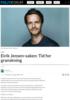 Eirik Jensen-saken: Tid for granskning