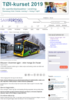 Elbusser i Drammen igjen - etter mange års fravær