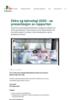 Eldre og teknologi 2020 - se presentasjon av rapporten