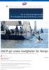 - Eldrift gir unike muligheter for Norge