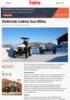 Elektrisk traktor hos Nibio