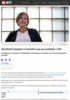 Elisabeth Sundset er innstilt som ny nestleder i HK