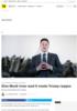 Elon Musk truer Trump Elon Musk truer med å vende Trump ryggen