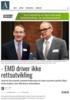 - EMD driver ikke rettsutvikling