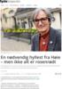 En nødvendig hyllest fra Høie - men ikke alt er rosenrødt