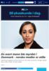 En svart mann ble myrdet i Danmark - norske medier er stille