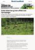 Enkle tiltak kan gi stor effekt mot hjorteplager