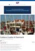 Enklere å seile til Danmark