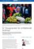 Er Tanzania klar for omfattende endring?