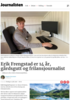 Erik Frengstad er 14 år, gårdsgutt og frilansjournalist