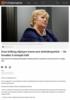 Erna Solberg skjerper tonen mot Arbeiderpartiet: - De forsøker å stemple folk