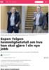 Espen Teigen hemmlighetsfull om hva han skal gjøre i sin nye jobb