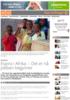 Espira i Afrika: - Det er nå jobben begynner