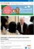 Ettåringer i asylmottak får gratis kjernetid i barnehagen