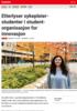 Etterlyser sykepleierstudenter i studentorganisasjon for innovasjon