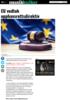 EU vedtok opphavsrettsdirektiv
