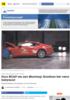Euro NCAP om nye Mustang: Kundene bør være bekymret