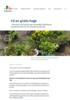 Få en gratis hage