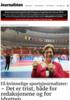 Få kvinnelige sportsjournalister: - Det er trist, både for redaksjonene og for idretten