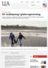 Får studiepoeng i global oppvarming