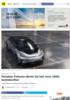 Faraday Futures første bil har over 1000 hestekrefter