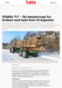 FARMA T17 - Ny tømmervogn for brukere med høye krav til kapasitet