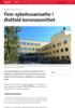 Fem sykehusansatte i Østfold koronasmittet