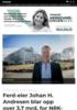 Ferd-eier Johan H. Andresen blar opp over 3,7 mrd. for NRK-tomten