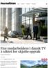 Fire medarbeidere i dansk TV 2 siktet for skjulte opptak