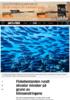 Fiskebestanden rundt ekvator minsker på grunn av klimaendringene