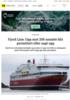 Fjord Line: Opp mot 200 ansatte blir permittert eller sagt opp