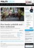 Flere hundre politifolk med i første streikeuttak