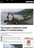 Flere hundre maskinførere mister jobben: K A Aurstad konkurs