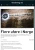 Flere uføre i Norge