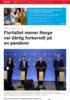 Flertallet mener Norge var dårlig forberedt på en pandemi