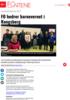 FO hedrer barnevernet i Kongsberg