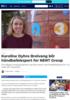 FOLK Karoline Dyhre Breivang blir håndballekspert for NENT Group