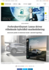 Forbrukertilsynet: Lexus driver villedende hybridbil-markedsføring