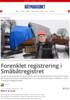 Forenklet registrering i Småbåtregistret
