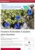 Forskere foretrekker å studere pene blomster