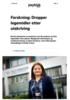 Forskning: Dropper legemidler etter utskriving