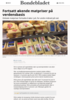 Fortsatt økende matpriser på verdensbasis