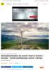 Fortum vindpark i Norge Energikostnaden for norsk vind er lavest i Europa - finsk kraftkjempe satser i Norge