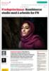 Fredsprisvinnar: Kombinerar studia med å arbeide for FN