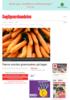 Færre norske grønnsaker på lager