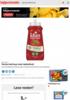 Første ketchup med nøkkelhull