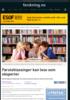 Førsteklassinger kan lese som eksperter