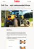 Fu Trac - nytt traktormerke i Norge