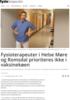 Fysioterapeuter i Helse Møre og Romsdal prioriteres ikke i vaksinekøen